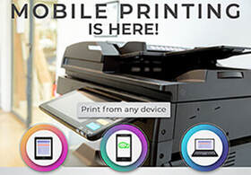 Mobile printing is here